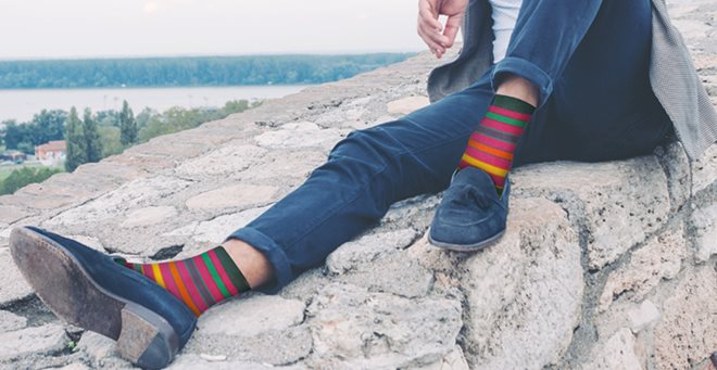 SOCKING BEHAVIOUR Best Mens Dress Socks Toronto