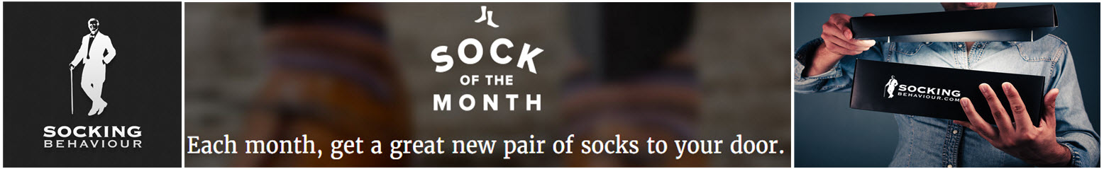 Best Sock of the Month Club in Canada!